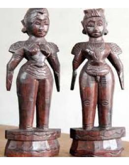 """ನವರಾತ್ರಿ ಪಟ್ಟದ ಗೊಂಬೆಗಳು ೧೦"""" - Navaratri Paddata Gombe 10"""""""